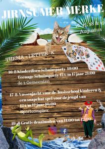 Poster Activiteiten jeugd
