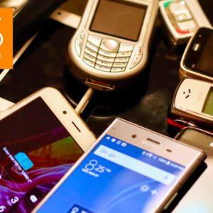 ALS actie oude telefoons